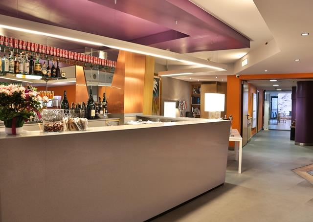 Bar Lounge Executive di Design Hotel 4 stelle Torino Centro