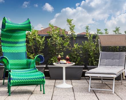 Hotel con rooftop e idromassaggio torino bw plus for Hotel design torino