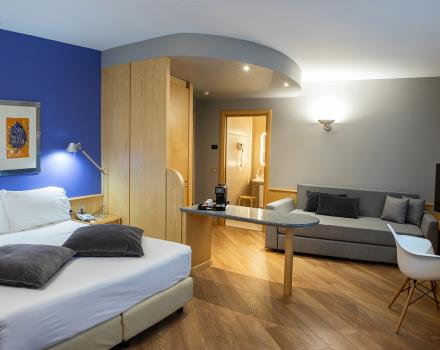 BW Plus Executive Hotel and Suites offers large deluxe rooms in Turin