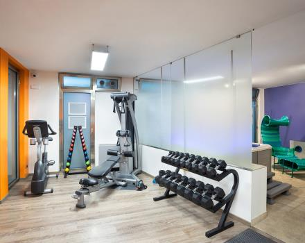 Keep you on shape during your stay in Turin at the BW Plus Executive Hotel and Suites