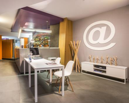 Book the BW Plus Executive Hotel and Suites in Turin with Lounge Bar