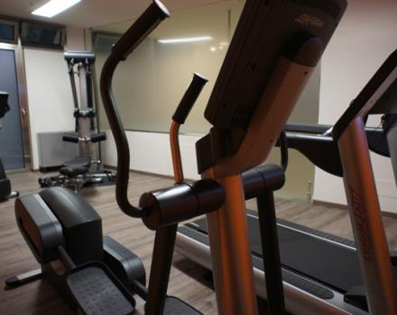 Entrenado en el gimnasio nuevo en el Best Western Plus executive hotel and suites.