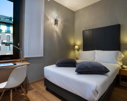 The BW Plus Executive Hotel and Suites in Turin offers comfortable rooms full of services