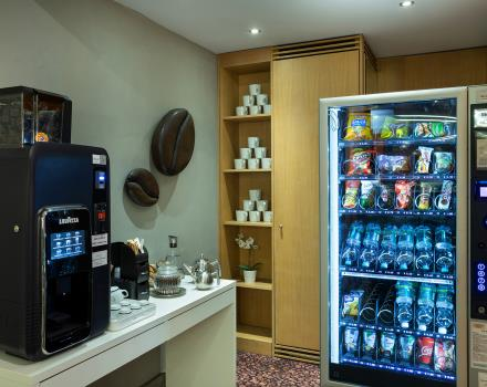 Hot drinks and 24-a-day snacks at BW Plus Executive Hotel and Suites Torino