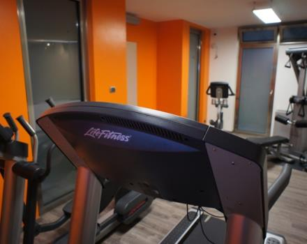 Relax in the fitness centre at the Best Western executive hotel and suites PKUS, 4 star hotel in the Centre of Turin
