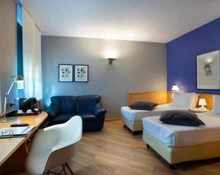 Book the rooms of our hotel for your stay in Turin