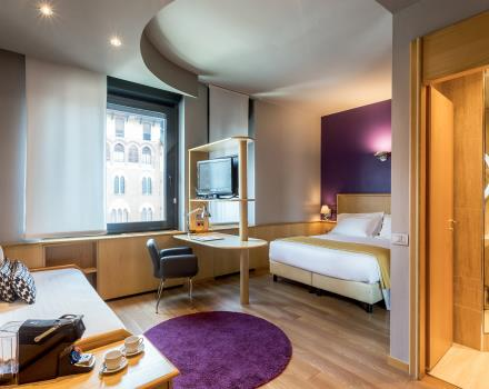 Rooms at the BW Plus Executive Hotel and Suites in Turin are ideal for your stay