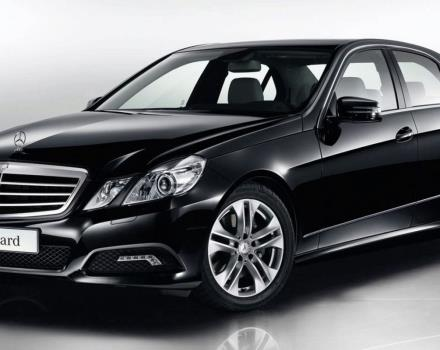 Mercedes E-Class Executive Hotel and Suites shuttle service