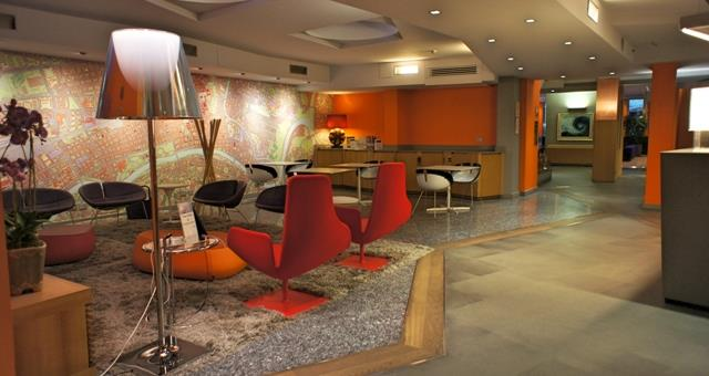 -Pad dock Station bei Best Western Plus Hotel executive, Torino
