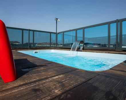 Choose our hotel with rooftop and hot tub in Turin Porta Nuova