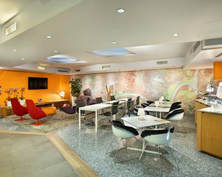 BW Plus Executive Hotel and suites in Turin with lounge bar